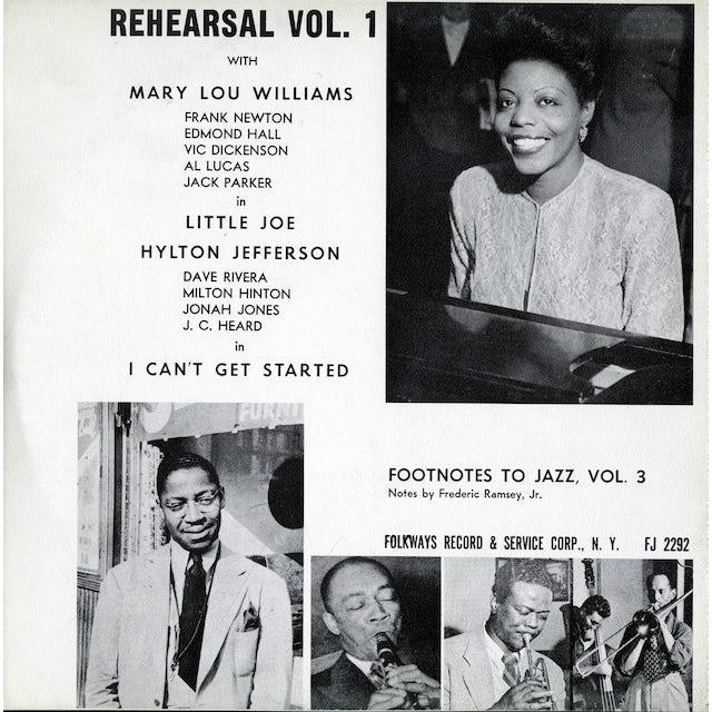 Mary Lou Williams FOOTNOTES TO JAZZ, VOL. 3: JAZZ REHEARSAL, I CD