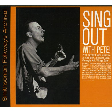 Pete Seeger SING OUT WITH PETE! CD