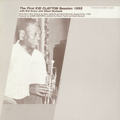 THE FIRST KID CLAYTON SESSION: 1952 CD