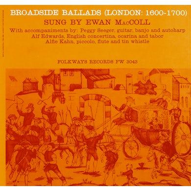 Ewan MacColl BROADSIDE BALLADS, VOL. 1 (LONDON: 1600-1700) CD