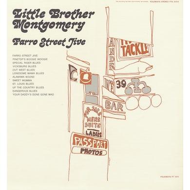 Little Brother Montgomery FARRO STREET JIVE CD