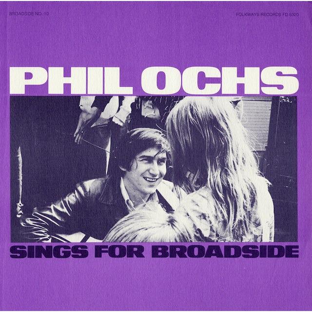 BROADSIDE BALLADS 10: PHIL OCHS SINGS CD