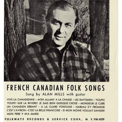 Alan Mills FOLK SONGS OF FRENCH CANADA CD