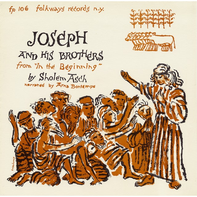 Arna Bontemps JOSEPH AND HIS BROTHERS: FROM IN THE BEGINNING CD
