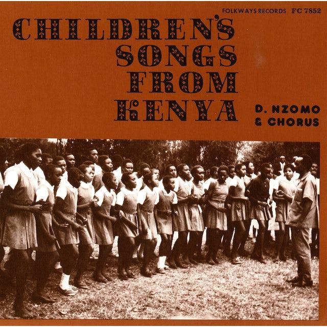 David Nzomo CHILDREN'S SONGS FROM KENYA CD