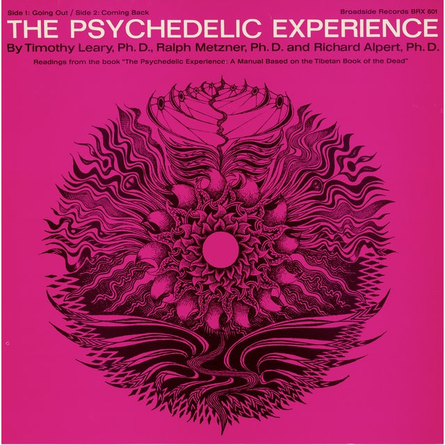 Timothy Leary THE PSYCHEDELIC EXPERIENCE: READINGS FROM THE BOOK CD