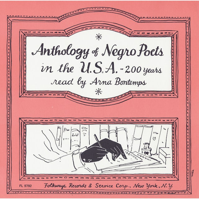 Arna Bontemps ANTHOLOGY OF NEGRO POETS IN THE U.S.A. - 200 YEARS CD