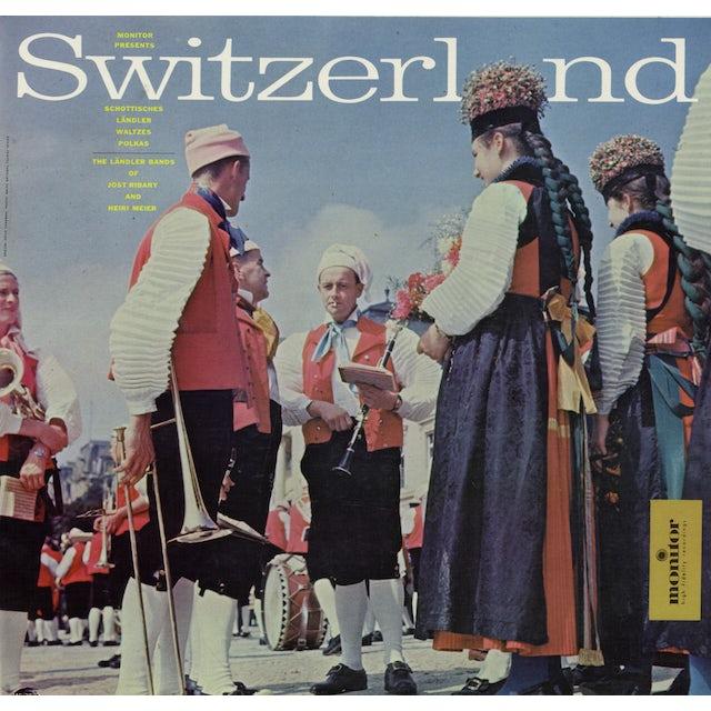 Jost Ribary SWITZERLAND: SCHOTTISCHES LANDLER WALTZES CD