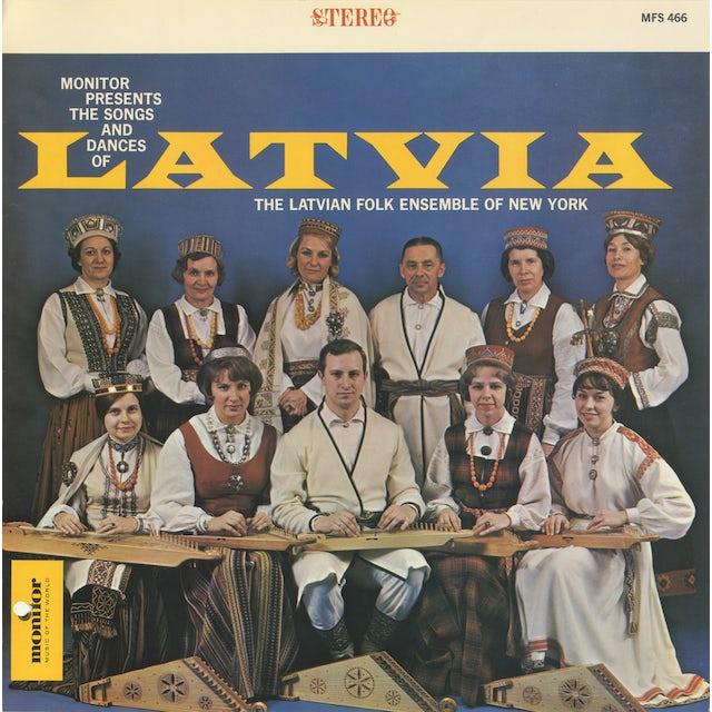 LATVIAN FOLK ENSEMBLE OF NEW YORK, VOL. 1 CD