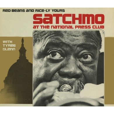 Louis Armstrong SATCHMO AT THE NATIONAL PRESS CLUB: CD