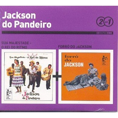 Jackson Do Pandeiro SUA MAJESTADE REI DO RITMO / FORRO DO JACKSON CD