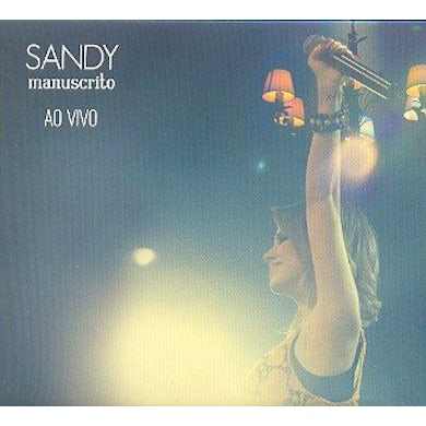 Sandy MANUSCRITO AO VIVO CD