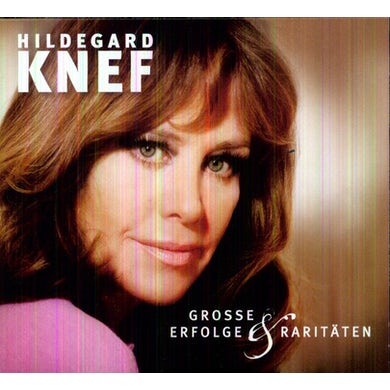 Hildegard Knef GROSSE ERFOLGE CD