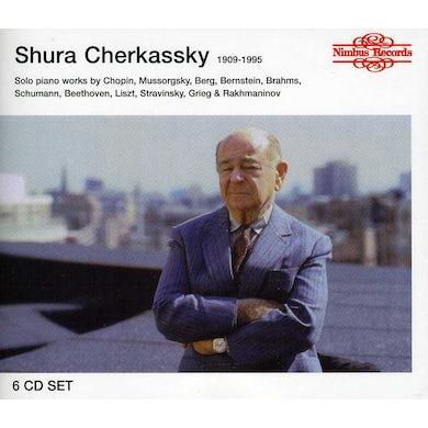 Shura Cherkassky SOLO PIANO WORKS CD