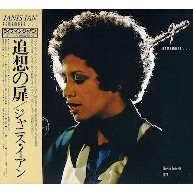 Janis Ian REMEMBER: LIVE IN JAPAN & AUSTRALIA CD
