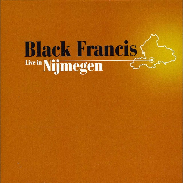 Black Francis LIVE IN NIJMEGEN CD