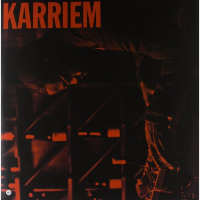 Karriem Riggins ALONE Vinyl Record