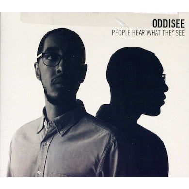 Oddisee PEOPLE HEAR WHAT THEY SEE CD