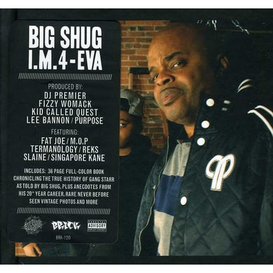 Big Shug I.M. 4-EVA CD