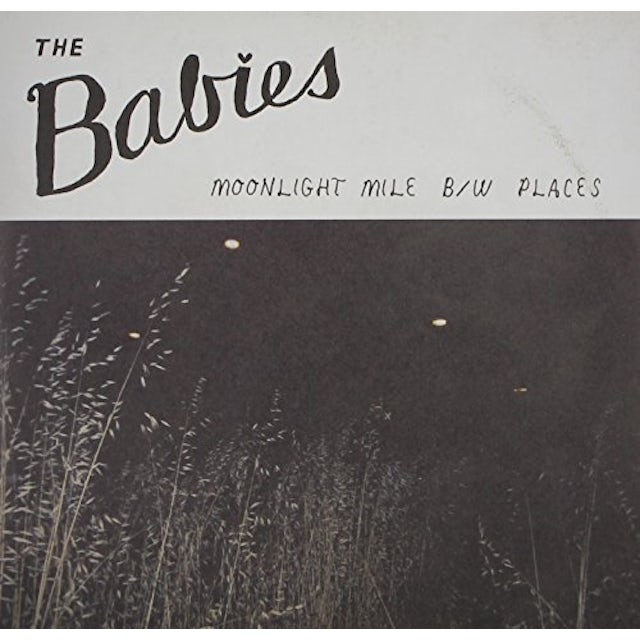 Babies MOONLIGHT MILE Vinyl Record