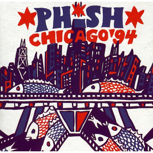 PHISH: CHICAGO 94 CD
