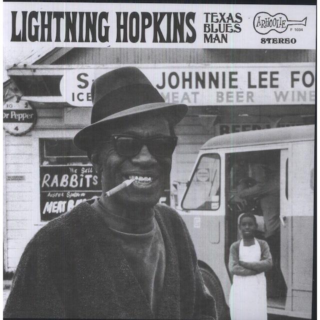 Lightnin Hopkins TEXAS BLUES MAN Vinyl Record