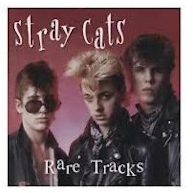 Stray Cats RARE TRACKS Vinyl Record