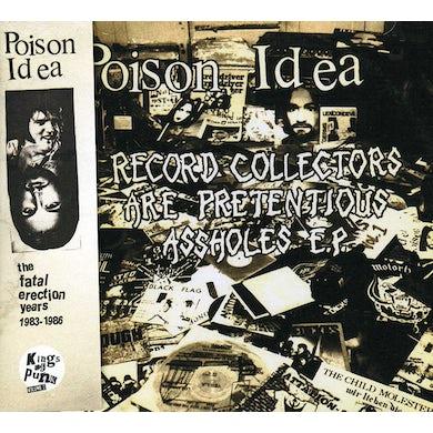 Poison Idea FATAL ERECTION YEARS CD