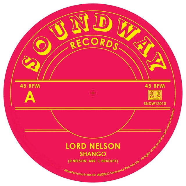 Lord Nelson SHANGO Vinyl Record