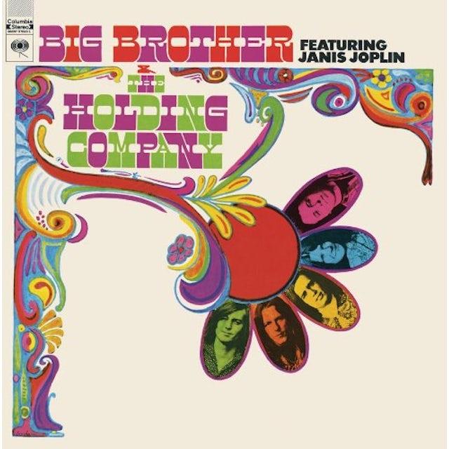 Janis Joplin BIG BROTHER & THE HOLDING COMPANY Vinyl Record