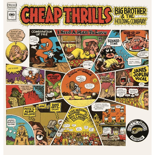 Big Brother And The Holding Company CHEAP THRILLS Vinyl Record