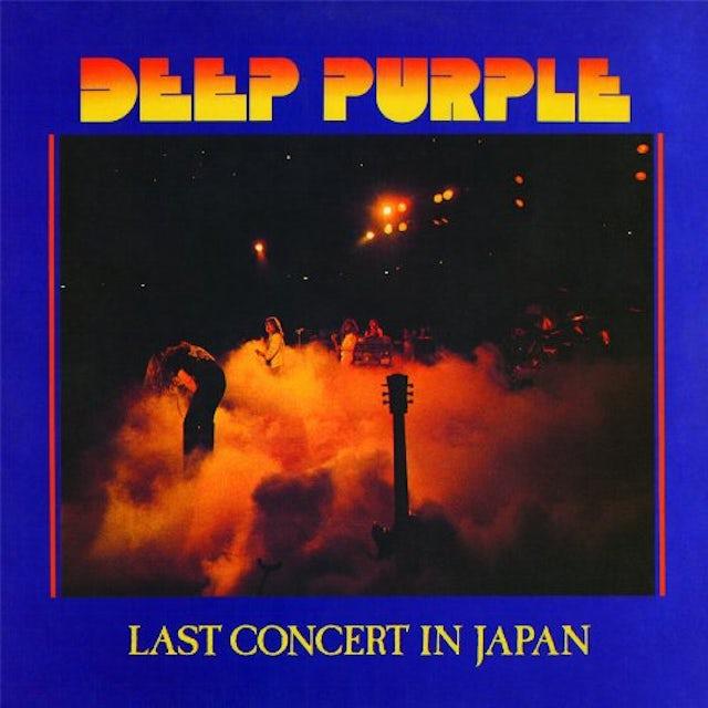 Deep Purple LAST CONCERT IN JAPAN Vinyl Record