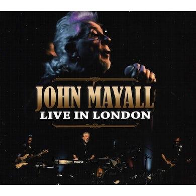 John Mayall LIVE IN LONDON CD