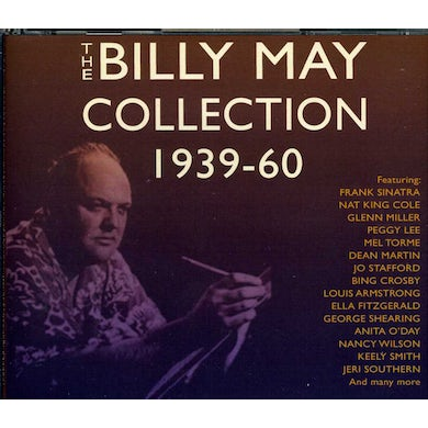 BILLY MAY COLLECTION 1939-60 CD
