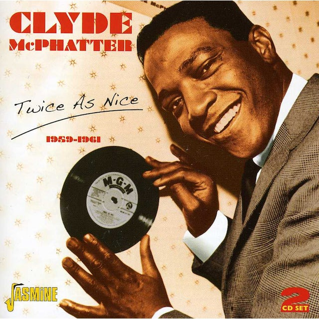 Clyde Mcphatter TWICE AS NICE 1959 - 1961 CD