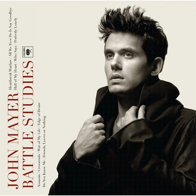 John Mayer BATTLE STUDIES Vinyl Record - 180 Gram Pressing