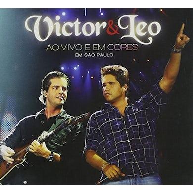 Victor & Leo AO VIVO & EM CORES CD