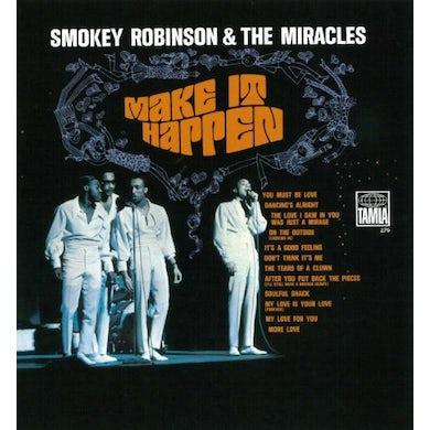 Smokey Robinson & Miracles MAKE IT HAPPEN AKA TEARS OF A CROWN CD
