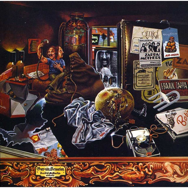 Frank Zappa OVER-NITE SENSATION CD