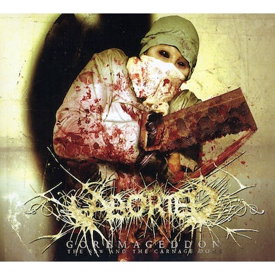Aborted GOREMAGEDDON: THE SAW & THE CARNAGE DONE CD
