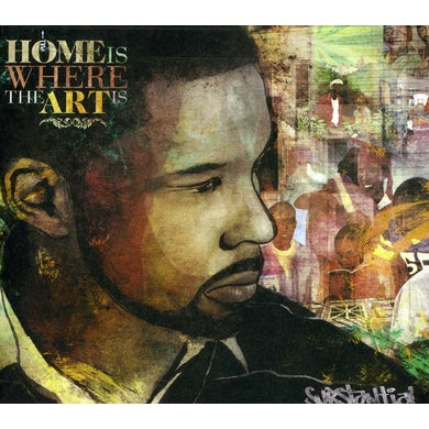 Substantial HOME IS WHERE THE ART IS CD