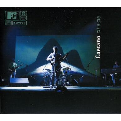 Caetano Veloso MTV AO VIVO CAETANO ZII & ZIE CD
