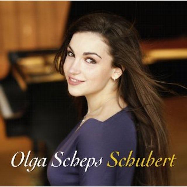 Olga Scheps SCHUBERT CD