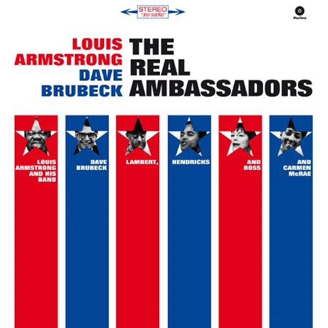 Louis Armstrong / Dave Brubeck REAL AMBASSADORS Vinyl Record - 180 Gram Pressing