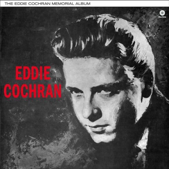 Eddie Cochran MEMORIAL ALBUM Vinyl Record - 180 Gram Pressing