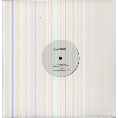 Lindstrøm CALL ME ANYTIME Vinyl Record