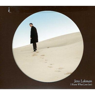 Jens Lekman I KNOW WHAT LOVE ISN'T CD