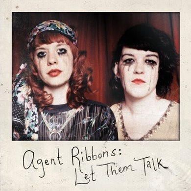 Agent Ribbons LET THEM TALK Vinyl Record