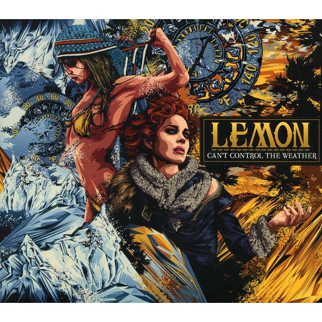 Lemon CAN'T CONTROL THE WEATHER CD