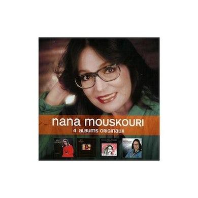 Nana Mouskouri 4 ORIGINAL ALBUMS CD